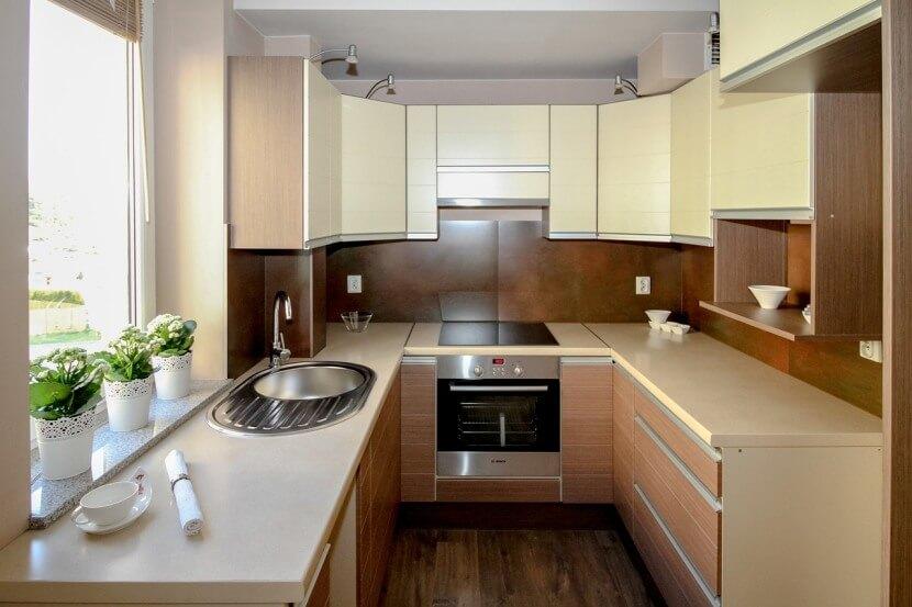Jak urządzić kuchnię - jasna kuchnia