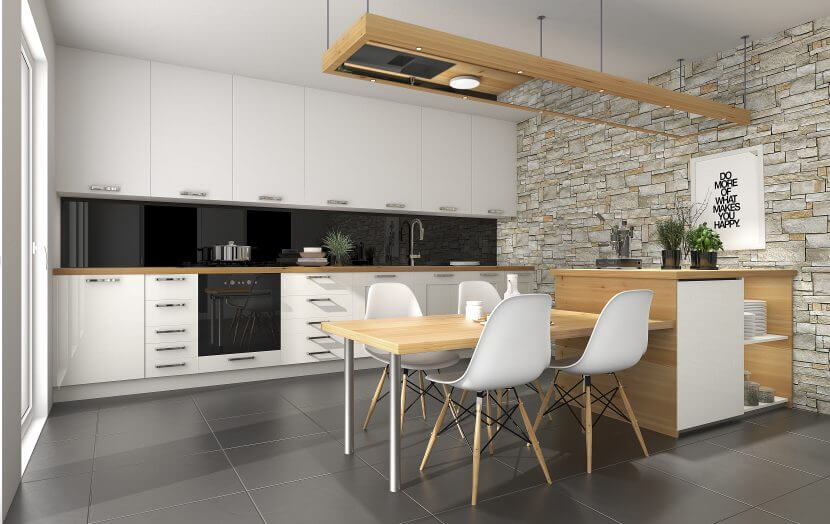 Oświetlenie w kuchni – sprawdź, jak je zaplanować. 5 wskazówek