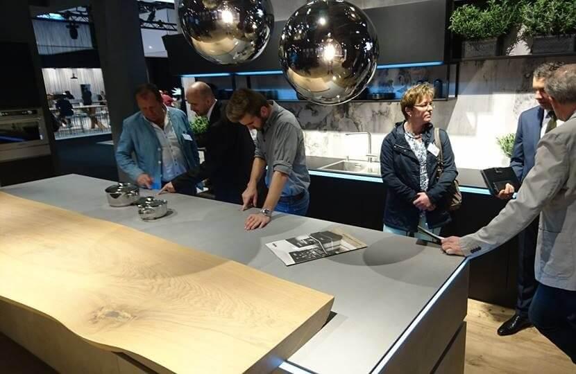 Kuchnia z nowoczesnymi technologiami - Nolte Küchen