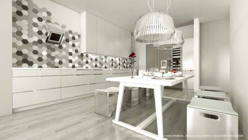 Projekt czy realizacja? Zobacz fotorealistyczne wizualizacje kuchni, jadalni i salonów