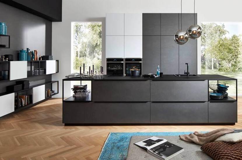 Przechowywanie w kuchni - wyspa kuchenna