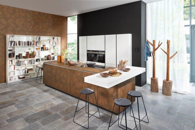 Przechowywanie w kuchni - regały