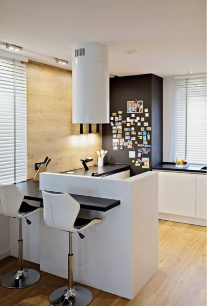 Kuchnia otwarta na salon - jak ją urządzić. Kącik jadalniany w kuchni