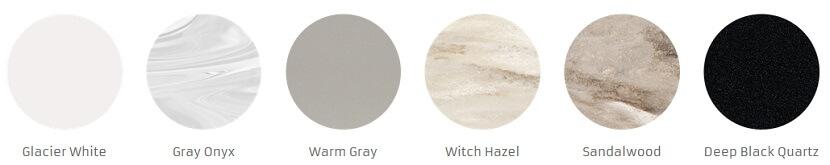 corian kolory