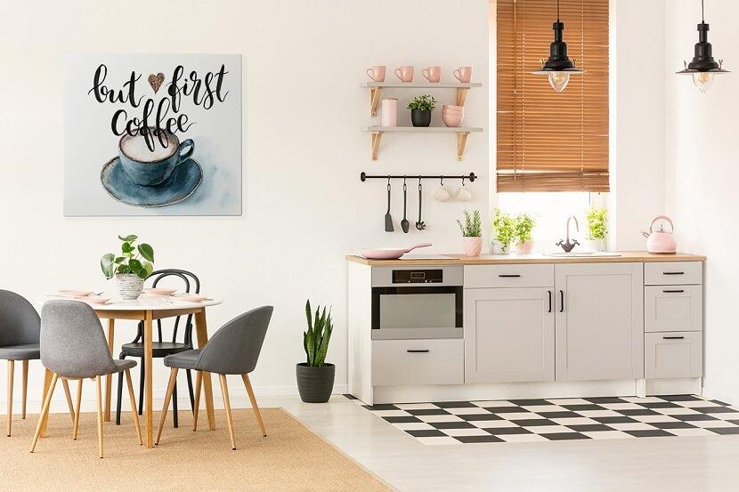 Obrazy Do Kuchni Wystrój Dla Miłośników Kawy Słodkości I