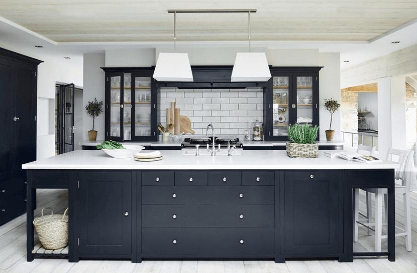 Kuchnia w black & white