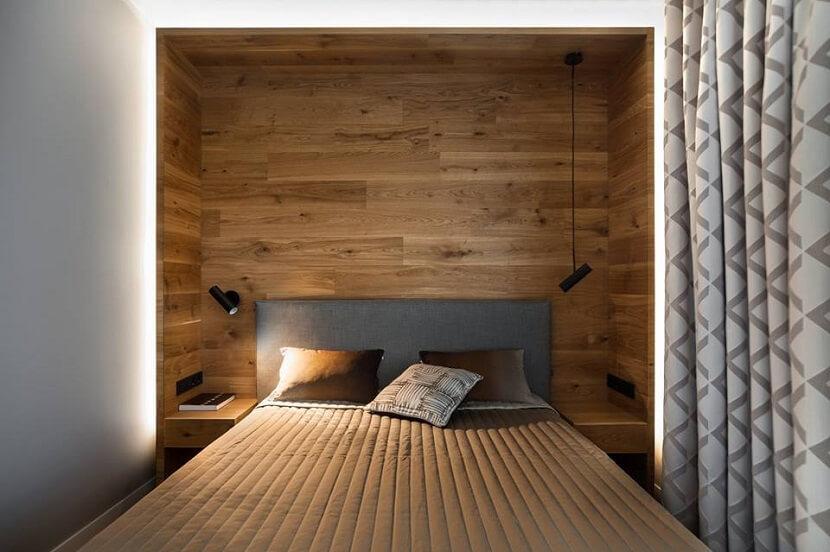 Alternatywa dla płytek. Panele drewniane na ścianę