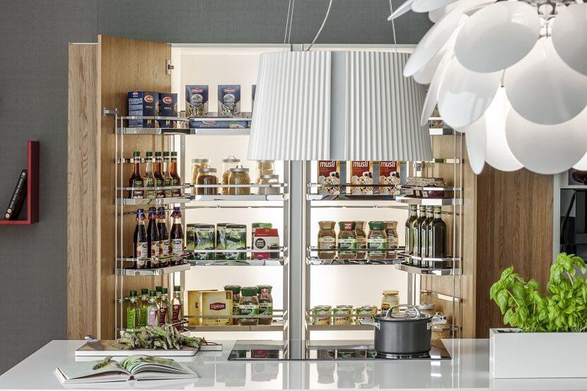 strefa przechowywania kuchnia