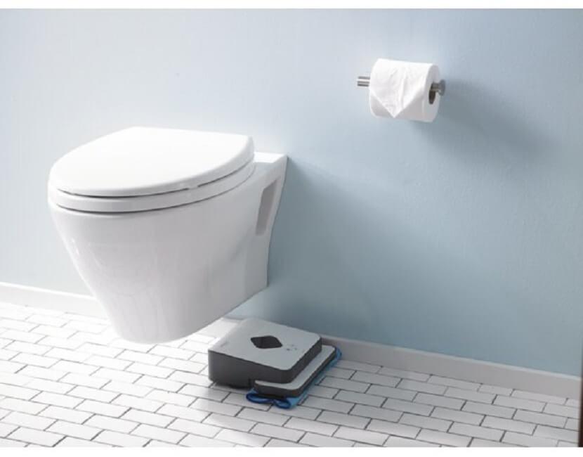 robot myjący podłogi