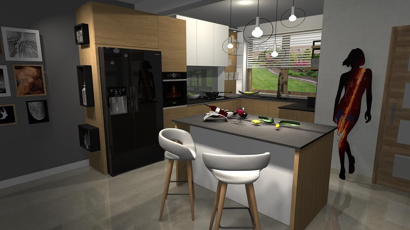 Najpierw projekt, potem przygotowanie wnętrza! Projektujemy kuchnie