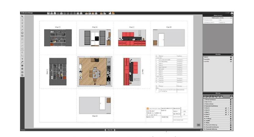 Nowe, zaawansowane możliwości w projektowaniu wnętrz z oprogramowaniem od CAD Projekt K&A