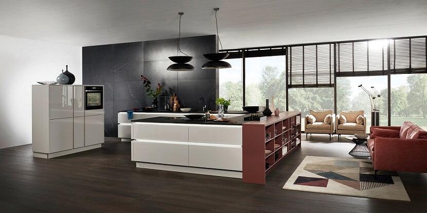 Salon połączony z kuchnią. Pomysły na jego aranżację!