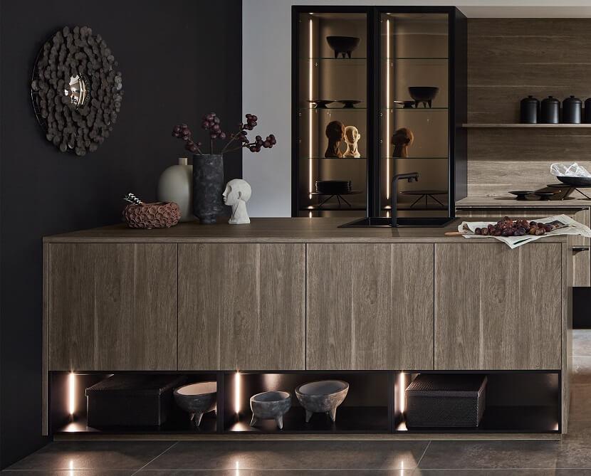 Więcej światła! Oświetlenie mebli kuchennych - przykłady
